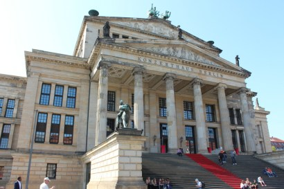 The city concert hall.