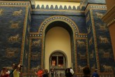 Moving on to the Pergamon Museum. The Germans took a lot of artifacts from Turkey for display but I did not expect them to dislodge the entire Ishtar Gate!