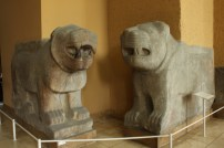 Assyrian (or was it Sumerian?) gatekeepers. Way too cuddly if you ask me.