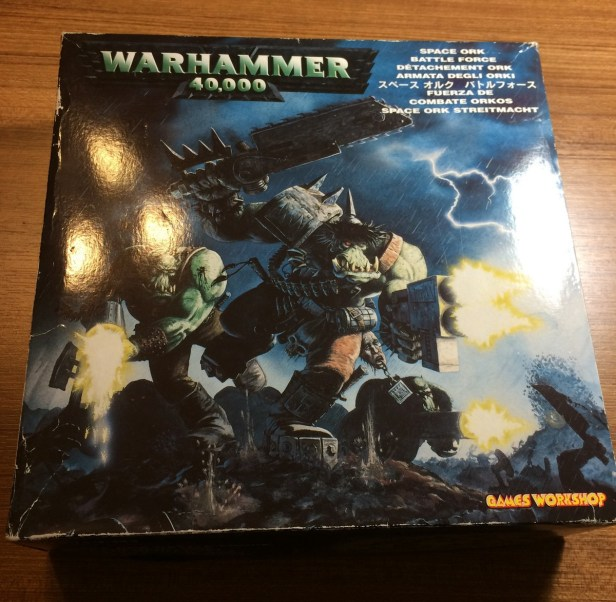 Yep, that's the old Battleforce box. Hopefully I'll be able to decommission it.