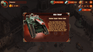 Glaive tanks come a bit late in the game (post Titan I mean, which makes all other units obsolete). I'm still waiting for my Rally Zones to upgrade to see it perform.