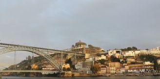 Puente Don Luis I y Río Duero