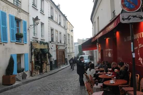 Cafetería barrio Montmartre