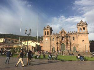 plaza armas cuzco cusco
