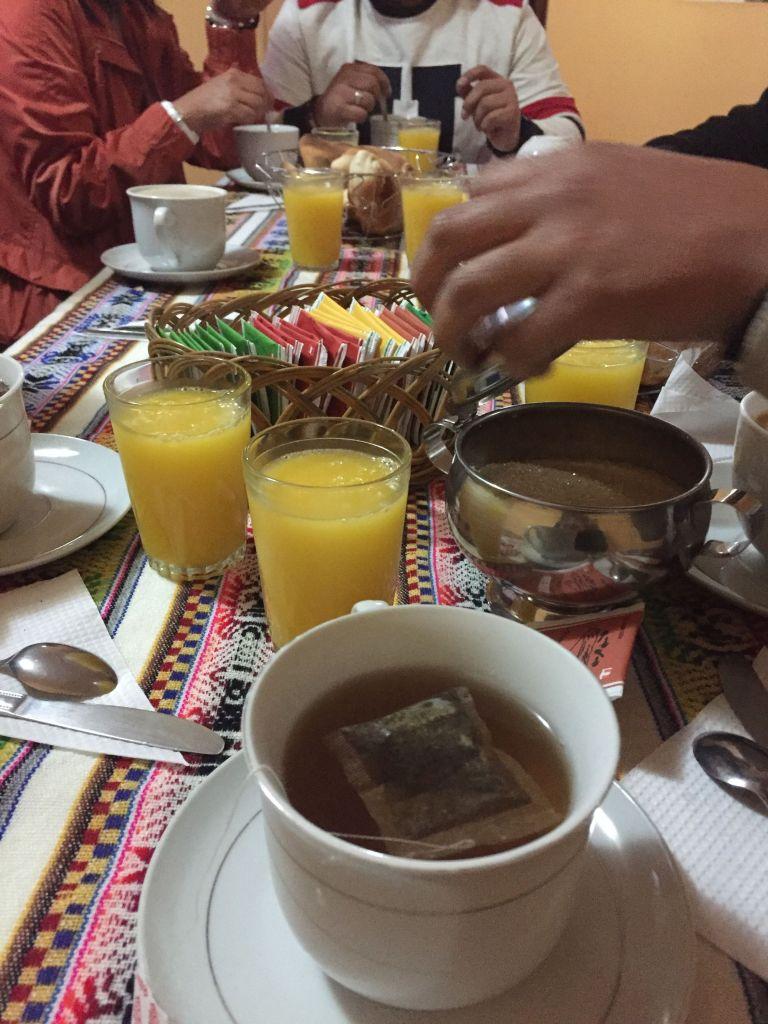 Desayuno valle