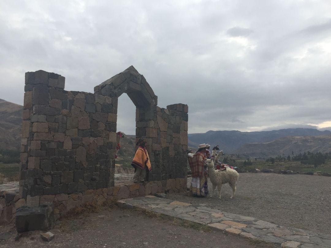Mujeres locales en Cañón del Colca
