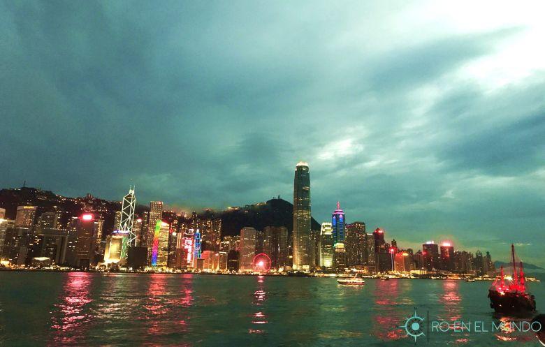 Skyline Hong Kong Avenida de las Estrellas