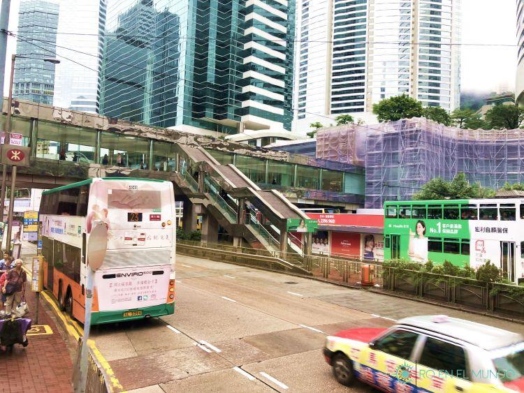 Tráfico en Hong Kong