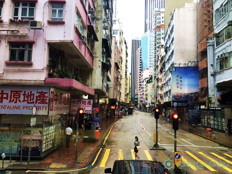 Calles de Central