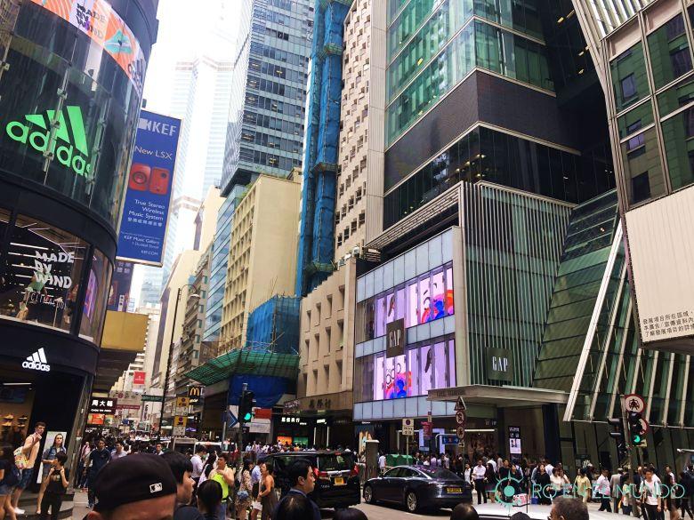 Central en Hong Kong Island
