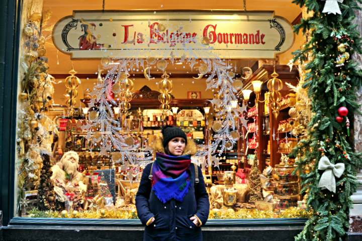 viajar en navidad Bruselas