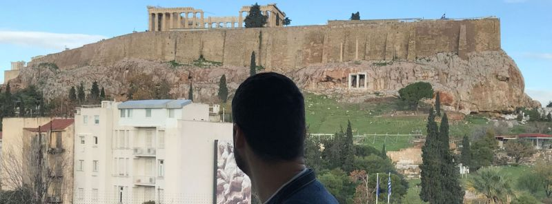 Viajar en Navidad a Atenas