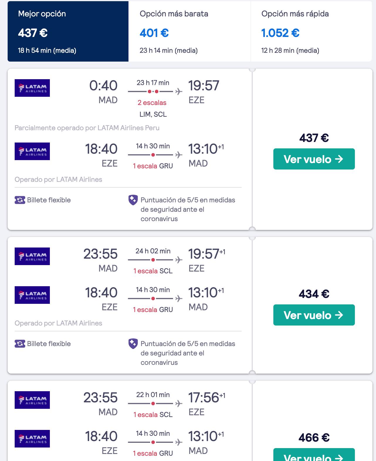 donde encontrar vuelos baratos