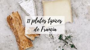 platos típicos de Francia