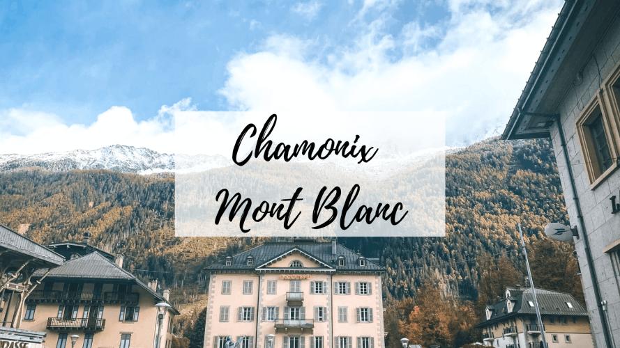 visitar chamonix mont blanc