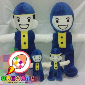 Boneka Maskot Wisuda PAUD (Pendidikan Anak Usia Dini)