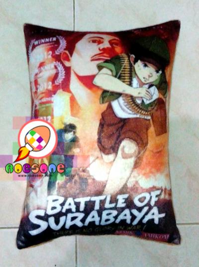 Bantal Oficial Souvenir Battle of Surabaya