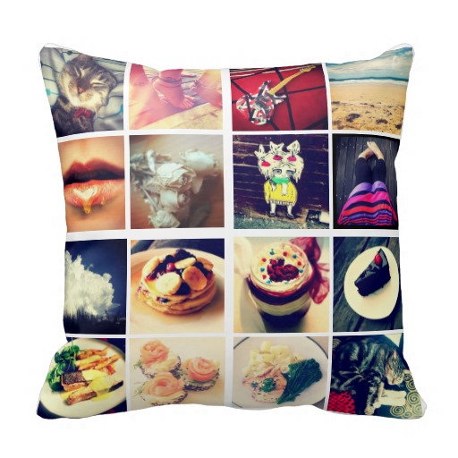 Bantal Foto Instagram