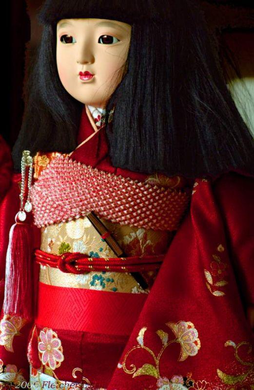 Boneka Okiku Jepang