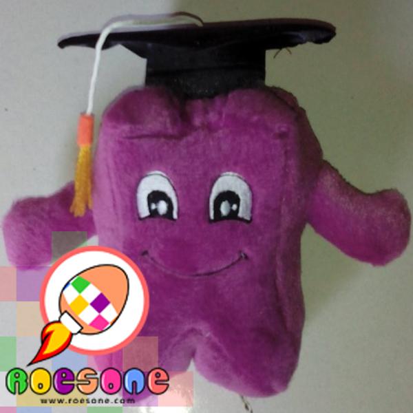 Boneka Wisuda Gigi dengan Nama Wisudawan