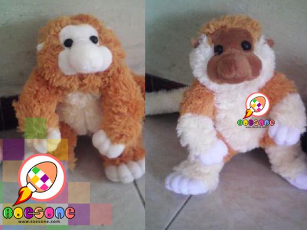 Boneka Bekantan Maskot Kalimantan Utara