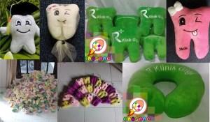 Macam-macam Souvenir Boneka Gigi Maskot Dental