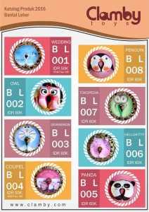 Katalog Bantal Leher Karakter Lucu Clamby Toys