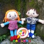 Boneka Maskot Yayasan GNI Gugah Nurani Indonesia