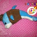Boneka Dolphin Maskot Baju Khas Jogja