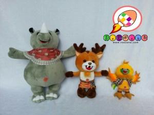 Boneka Maskot ASIAN GAMES di Indonesia