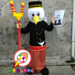 Boneka Badut Maskot KPU Kabupaten Palopo Sulawesi