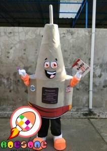 Boneka Maskot Badut KPU Pangkalpinang Tugu Pergerakan Kemerdekaan