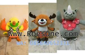 Produsen Boneka Maskot Asean Games 2018 Bhin Bhin Atung Kaka