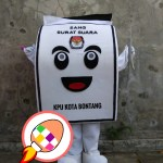 Produsen Badut Maskot KPU Kota Bontang