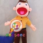 Produsen Boneka Muppet Polisi Karakter Edukasi