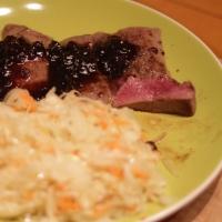 5-minutowy obiad z jelenia