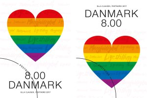 Pride frimærker