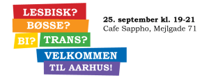 Intro aften for nye i Århus - onsdag den 25.sept.
