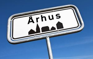 Århus byskilt