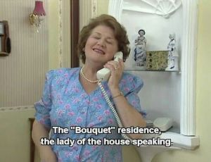 """""""The Bouquet residence....the lady of the house speaking"""""""