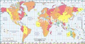 World timezone countdown