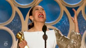 """Sandra Oh wins the 2019 Golden Globe for lead drama actress in a television series for her performance as the titular MI5 agent in BBC America's cat-and-mouse drama """"Killing Eve."""""""