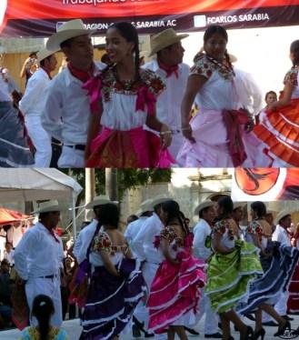 Traditional dance in Oaxaca