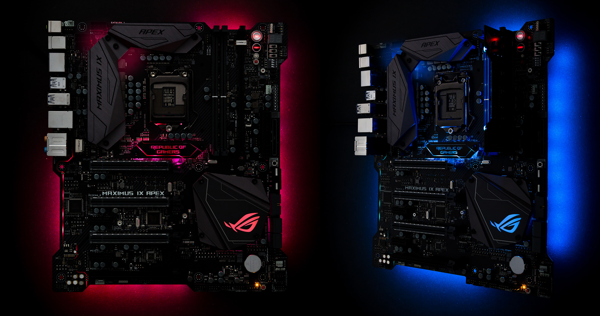 ROG Maximus IX Apex Estas son las nuevas motherboards Z270 de ASUS