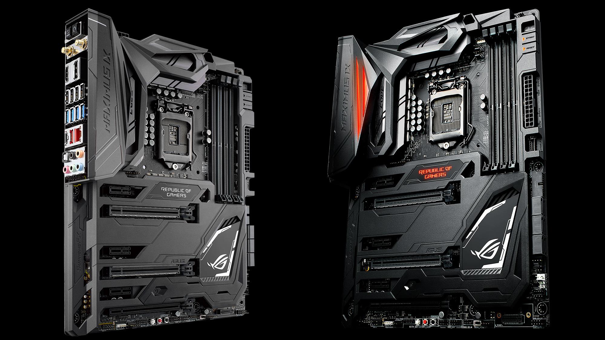 ROG Maximus IX Code Estas son las nuevas motherboards Z270 de ASUS