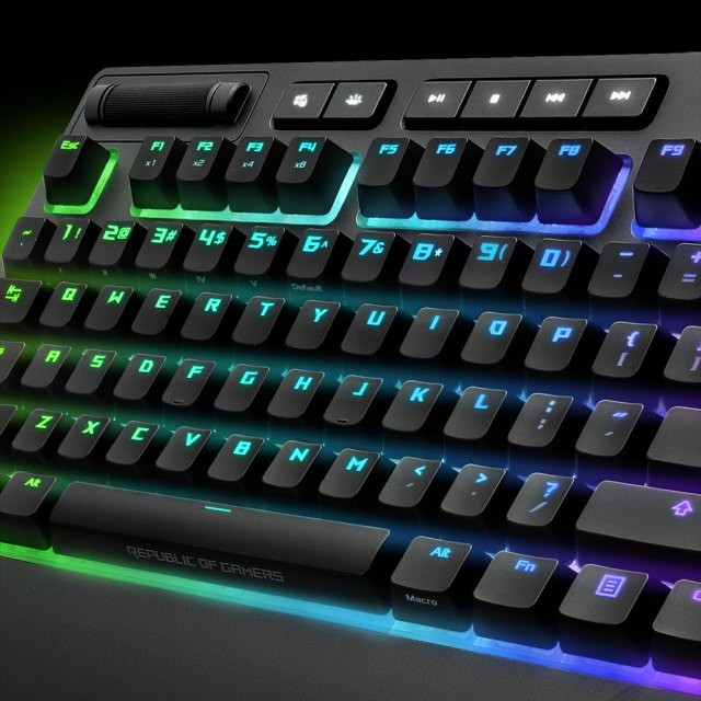 1515380921595 ASUS to launch its ROG Strix Flare keyboard soon   The RGB setup looks damn impressive!