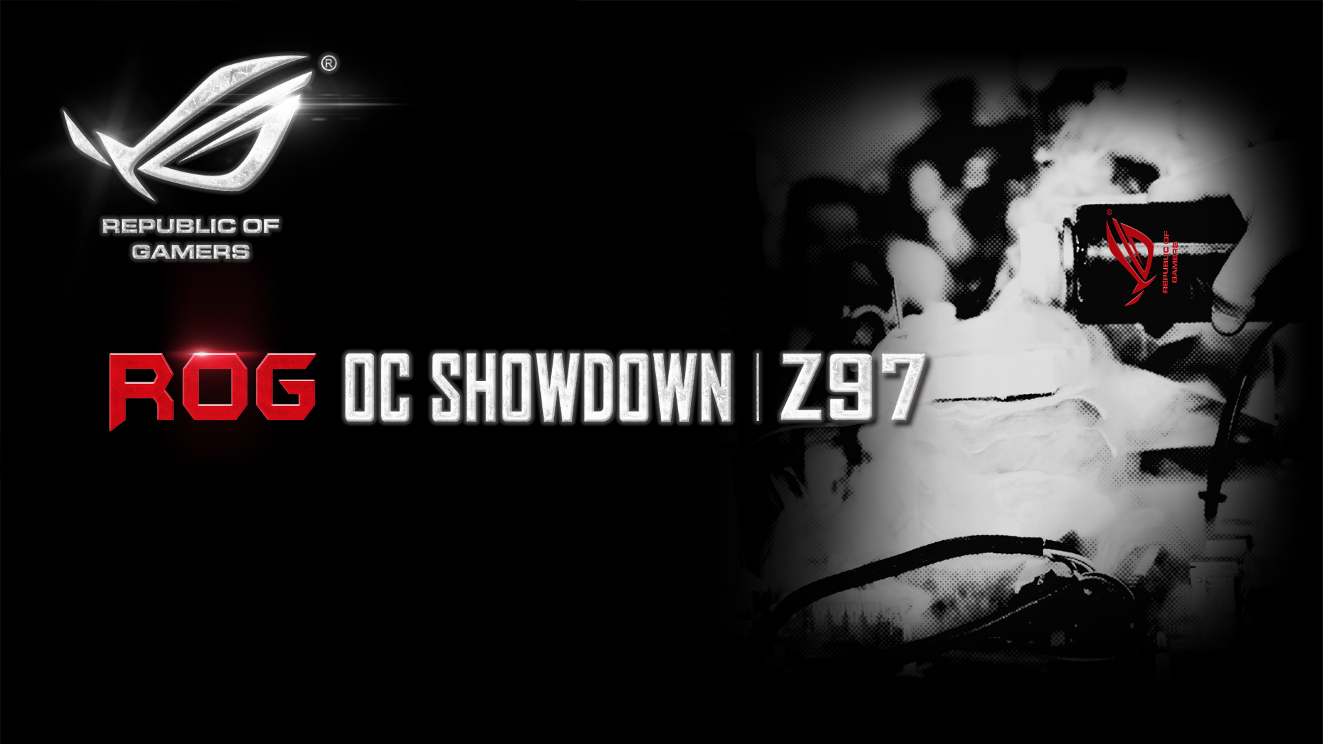 PR ASUS Launches ROG OC Showdown Online Overclocking Competition ROG Republic Of Gamers Global