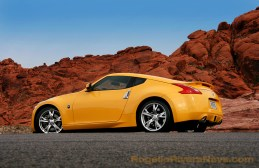 2008 Nissan 370 Z three quarter rear beauty, North America press launch, Red Valley, Nevada, USA