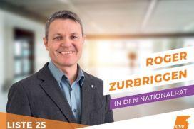 Nationalrat Kandidat 2019 Roger Zurbriggen