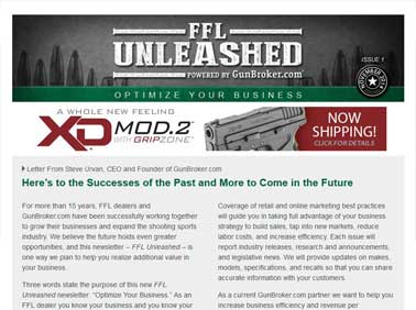 FFL Unleashed E-Mail Newsletter